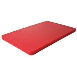 Разделочная доска 53х32,5 см. красная