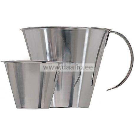 Мерный стакан 1 л. из нержавеющей стали
