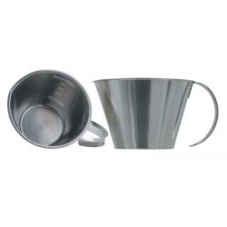 Мерный стакан 2 л. из нержавеющей стали