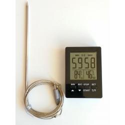 Термометр для запекания мяса дигитальный