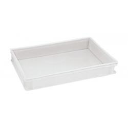 Ящик из полипропилена с крышкой 60x40x7 cm.