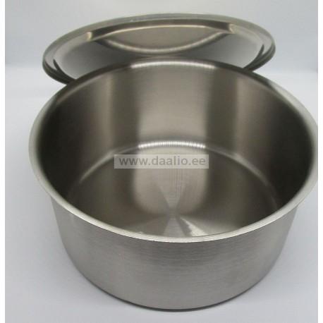 Миска из нержавеющей стали 2,5 л. 22,3х10,0 см.