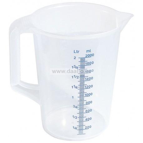 Мерный стакан 2 л. из полипропилена