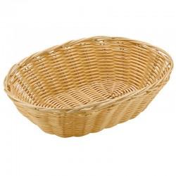 Овальная корзинка для хлеба 23 см.